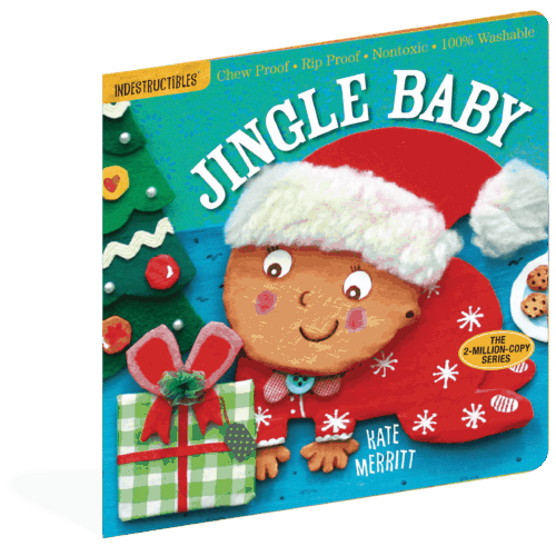 Indestructibles Jingle Baby rip-proof, chew-proof baby book
