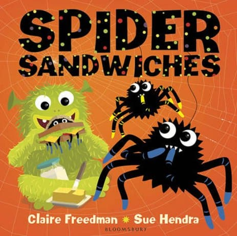 Spider Sandwiches board book by Sue Hendra and Claire Freedman