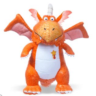 Zog cuddly toy