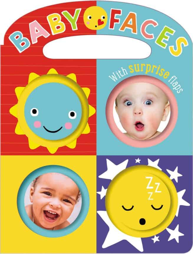 Baby Faces Lift the flap book