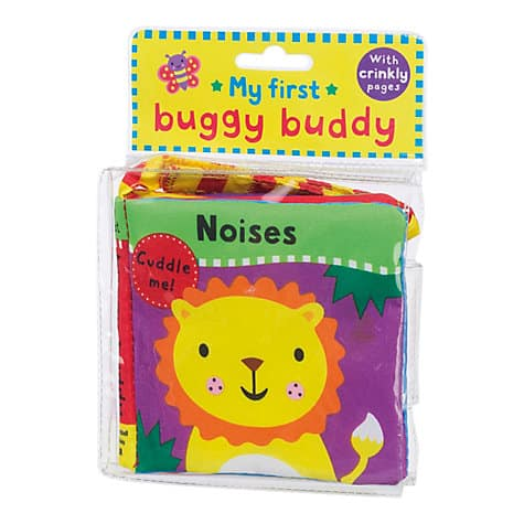 Buggy Buddy Noises crinkle cloth book