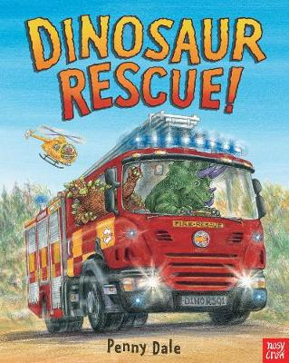 Dinosaur Rescue board book