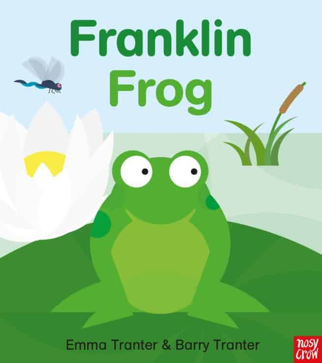 Franklin Frog, life cycle of a frog for children