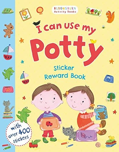I Can Use My Potty, Potty training activity book