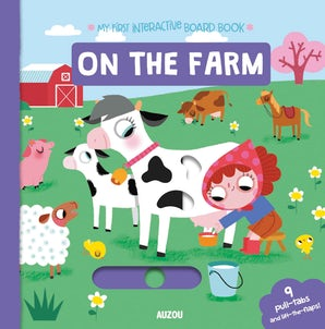 On the Farm, First Animated Board Book, Auzou