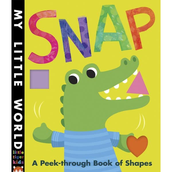 Snap, children's book about shapes