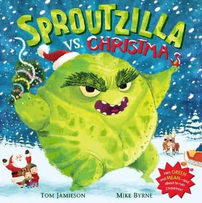 Sproutzilla Vs Christmas children's Christmas storybook