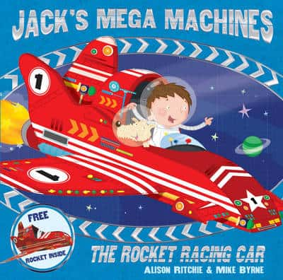 Jack's Mega Machines The Rocket Racing Car