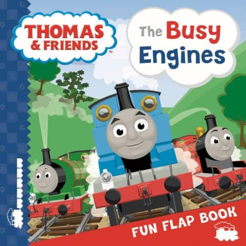 Thomas & Friends The Busy Engines lift the flap book | Thomas the Tank Engine