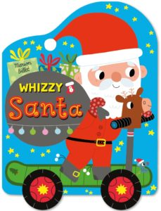 Whizzy Santa Christmas board book