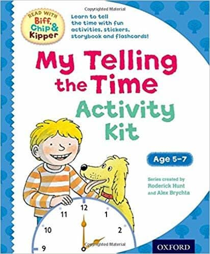 Biff Chip and Kipper Telling the Time activity kit