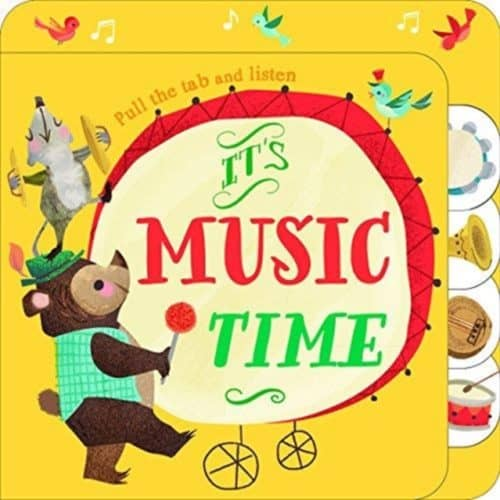 It's Music Time sound book by YoYo books 9789463341158
