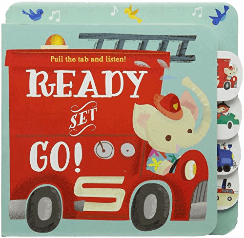 Ready Set Go sound book for babies and toddlers 9789463343329
