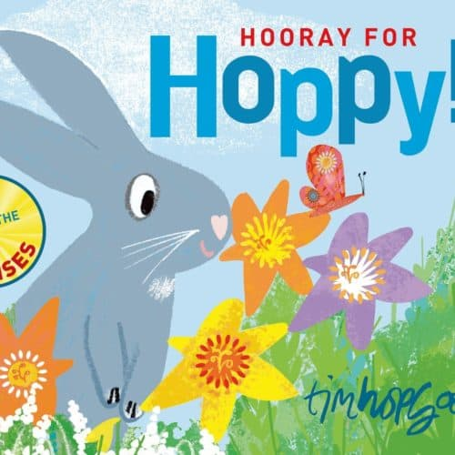 Hooray for Hoppy, a children's book about senses
