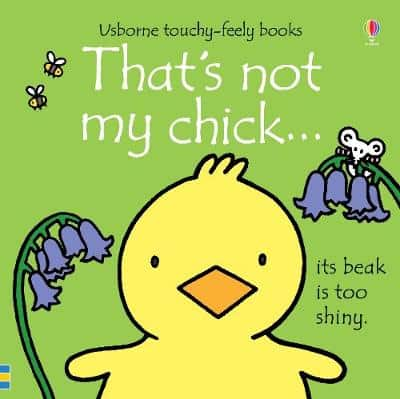 Usborne That's Not My Chick touch and feel baby book