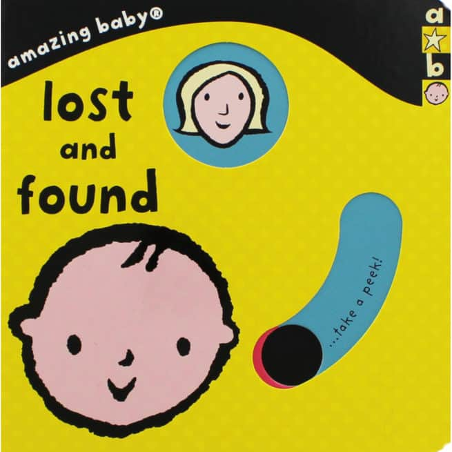 Amazing Baby lost and found interactive board book