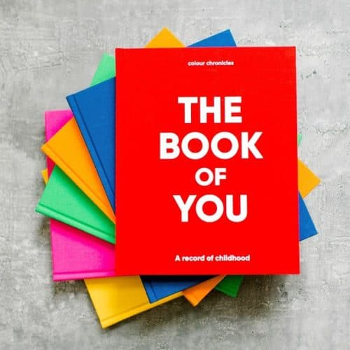 The Book of You childhood record book ColourChronicles