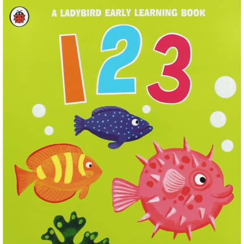 Ladybird Early Learning Book 123