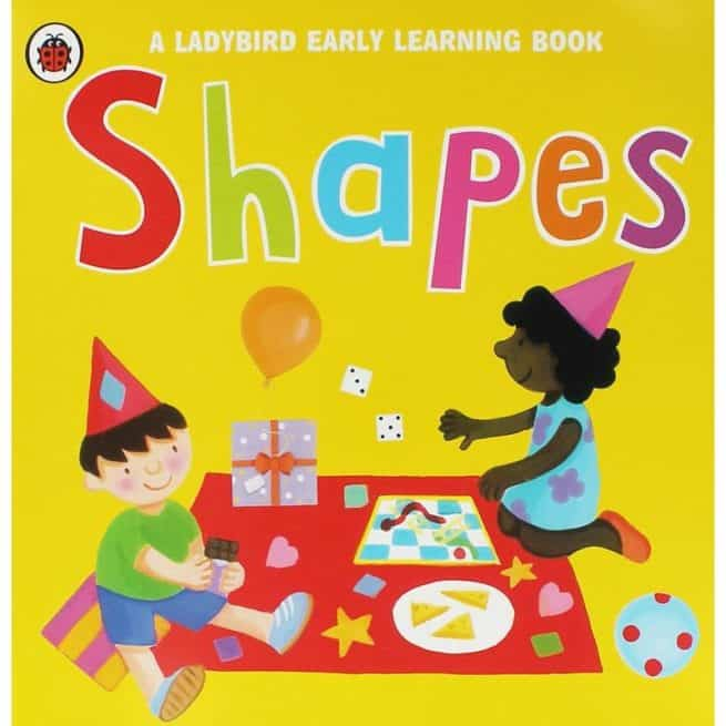 Ladybird Early Learning Book Shapes