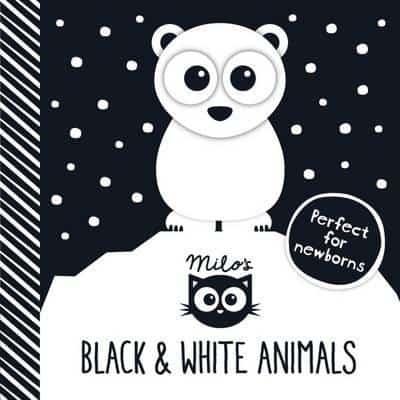 Milo's Black and White Animals black and white baby book