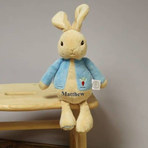 My First Peter Rabbit personalised soft toy