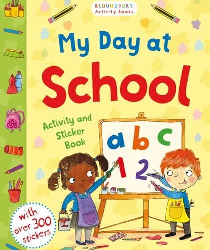 My Day at School starting school activity book