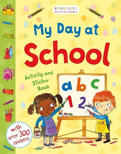 My Day at School starting school activity book