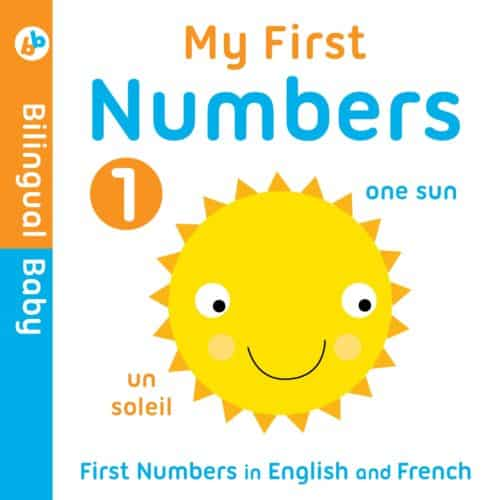 My First Numbers Bilingual Baby English to Spanish baby book