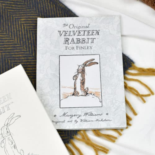 The Velveteen Rabbit personalised book front cover