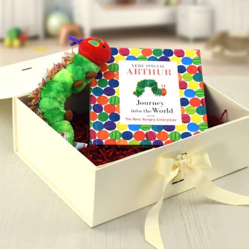 The Very Hungry Caterpillar Book and soft toy with gift box