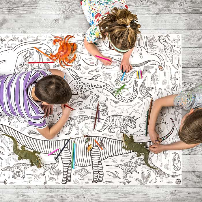 Unicorn Magic Giant Colour-in Table Cloth / Poster | £10 ...